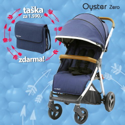 BabyStyle Oyster Zero stroller Oxford Blue