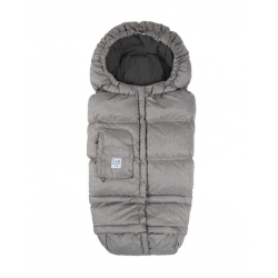 7AM Enfant Blanket 212 Evolution footmuff Heather Grey