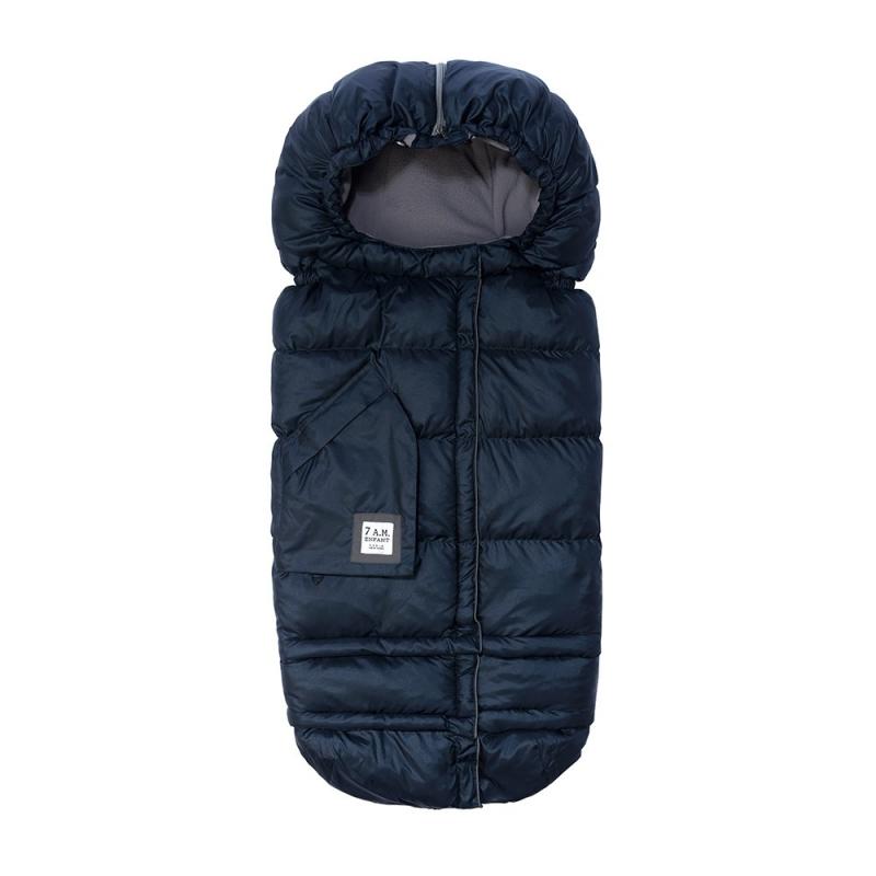 7AM Enfant Blanket 212 Evolution fusak Metallic Prussian Blue