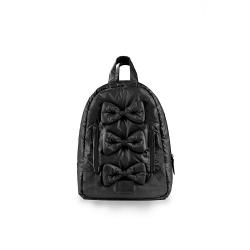 7AM Enfant Mini Bows backpack, Black