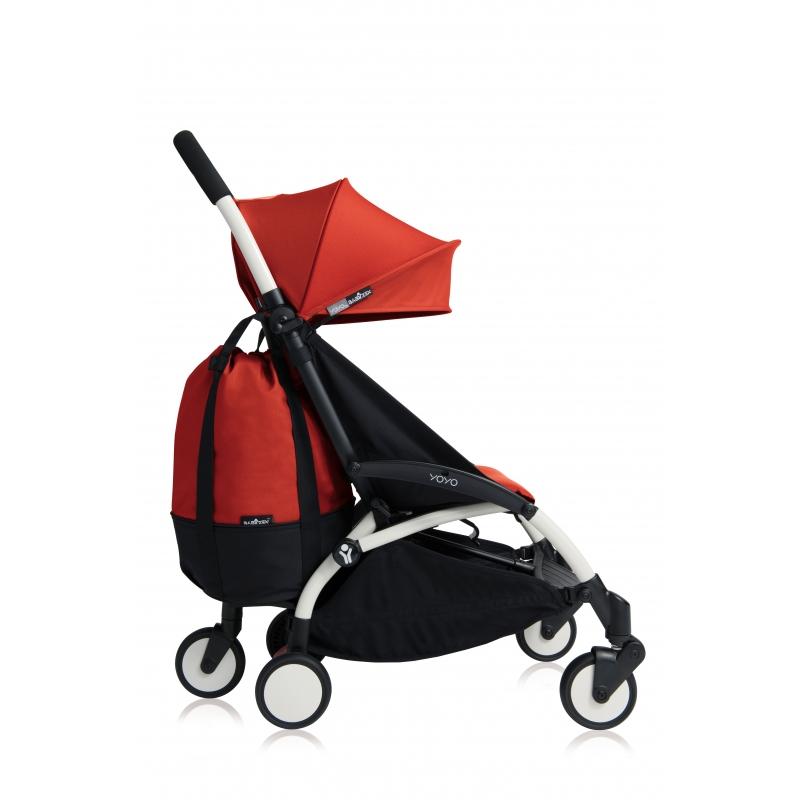 BABYZEN YOYO+ Pojízdná taška, Red 2020