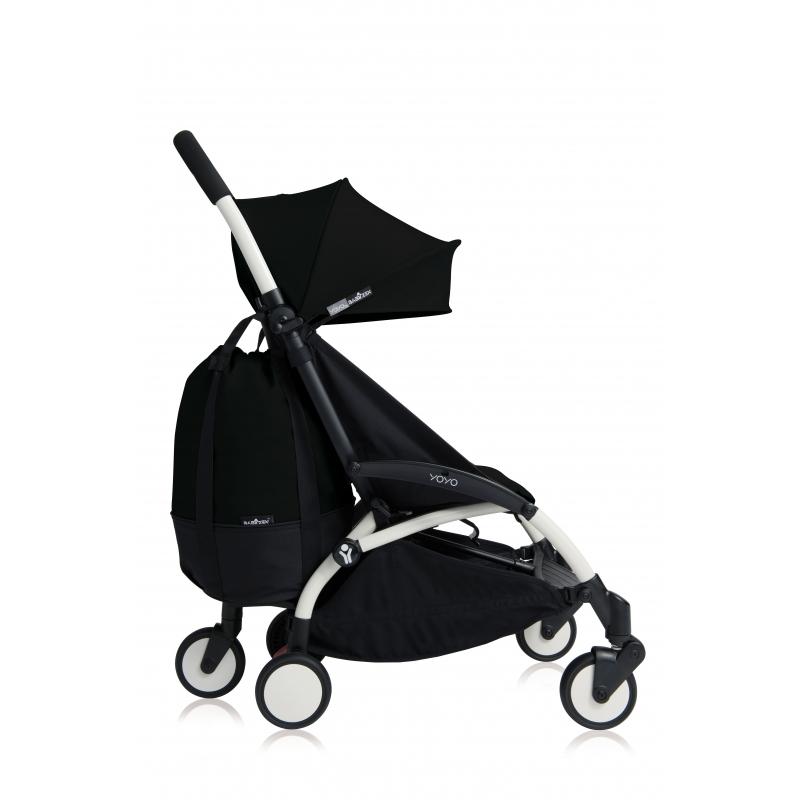 BABYZEN YOYO+ Pojízdná taška, Black 2020