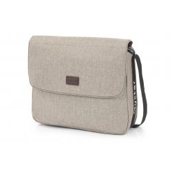 OYSTER taška s přebalovací podložkou - PEBBLE  2019