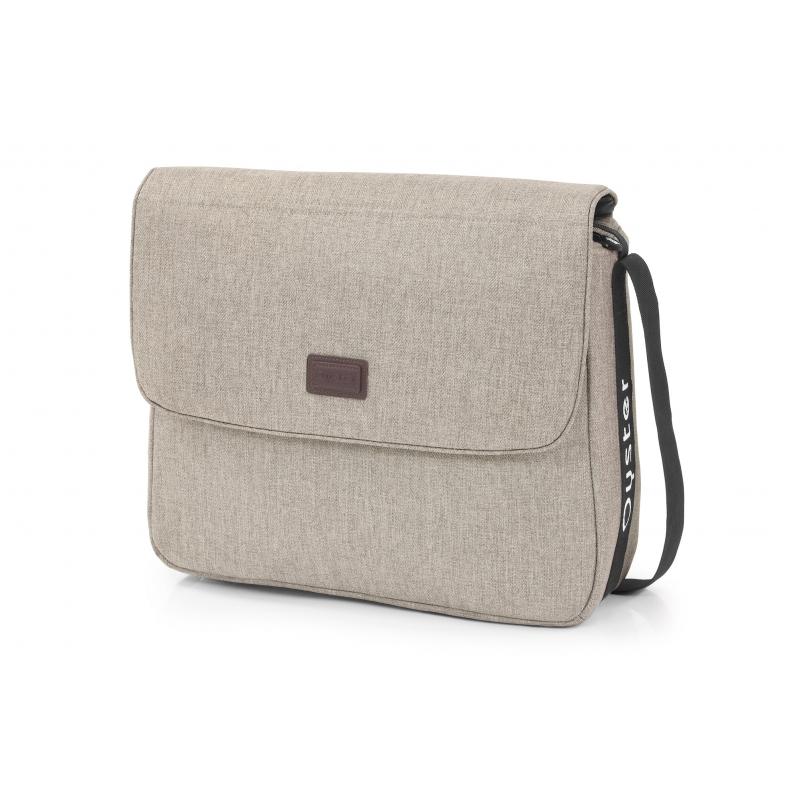 OYSTER taška s přebalovací podložkou - PEBBLE 2021