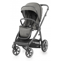 OYSTER 3 stroller with rain cover - MERCURY (CITY GREY fraim)  2019