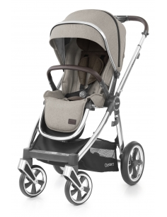 OYSTER 3 stroller with rain cover - PEBBLE (MIRROR fraim)   2019