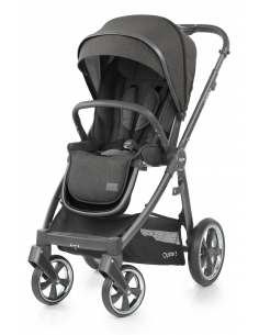 OYSTER 3 stroller with rain cover - PEPPER (CITI GREY fraim)   2019