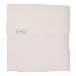 Koeka Bassinet blanket Stockholm 75x100, old baby pink