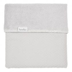 Koeka Bassinet blanket Stockholm 75x100, silver grey