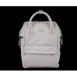 BabaBing Mani backpack changing bag, Grey Blush Leatherette