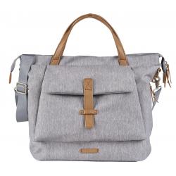 BabaBing Erin tote changing bag, Grey Marl