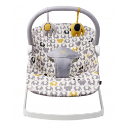 BabaBing Float Baby Bouncer, Nellie Elephant Print