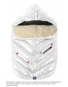 7AM Enfant Polar Igloo fusak White - NEW
