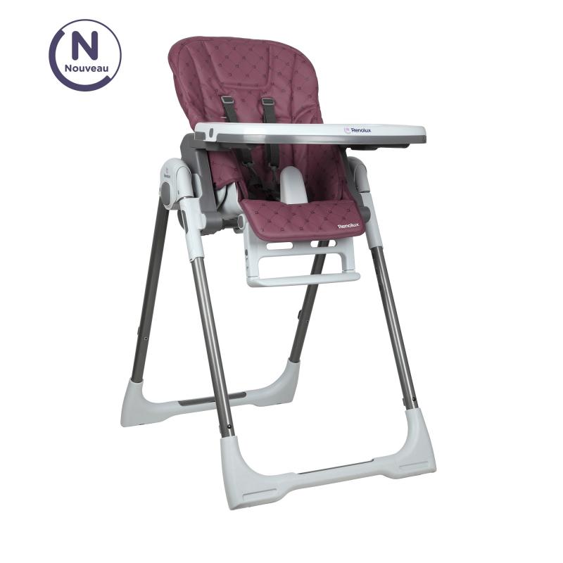 RENOLUX VISION jídelní polohovací židle 2019, Purple