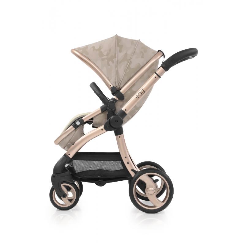 BabyStyle EGG kočárek Camo Sand 2019