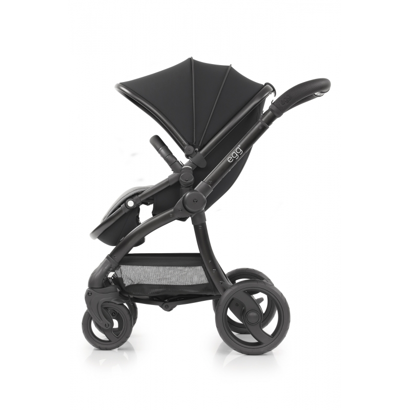BabyStyle EGG kočárek Just Black 2019