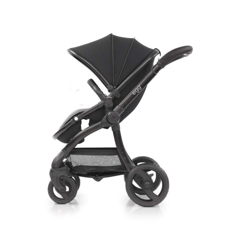 BabyStyle EGG kočárek Just Black 2020