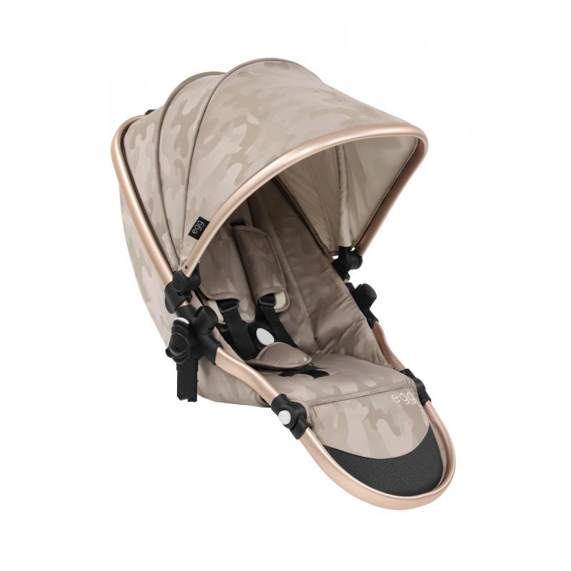 BabyStyle EGG Tandem sedací část Camo Sand 2019