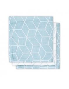Jollein Hydrofilní ručník Graphic stone green, 3 ks