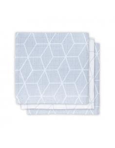 Jollein Hydrofilní ručník Graphic grey, 3 ks