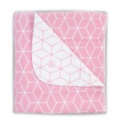 Jollein Blanket 75x100 Graphic mauve