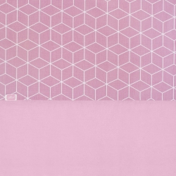 Jollein Sheet 120x150, Graphic mauve