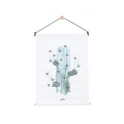 Jollein Plakát 42x60 canvas Cactus