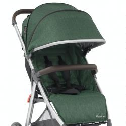 OYSTER ZERO set: sedací část textil + stříška, Alpine Green 2019
