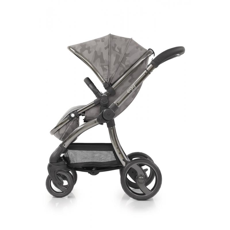 BabyStyle EGG kočárek Camo Grey 2019