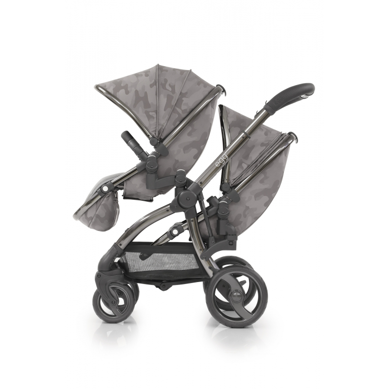 BabyStyle EGG Tandem sedací část Camo Grey 2019