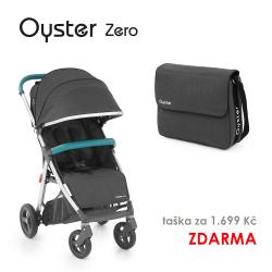 BabyStyle Oyster Zero kočárek LIMITED EDITION TUNGSTEN GREY/MINT 2018