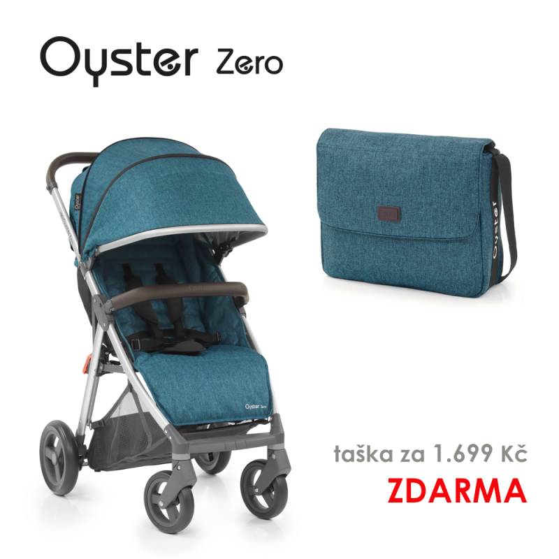 BabyStyle Oyster Zero kočárek Regatta 2019 + taška ZDARMA
