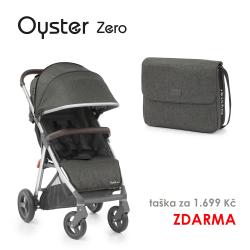 BabyStyle Oyster Zero kočárek Pepper 2019