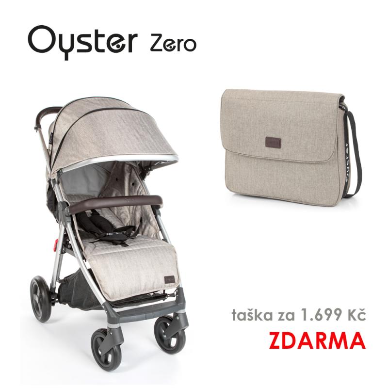 BabyStyle Oyster Zero kočárek Pebble 2019 + taška ZDARMA