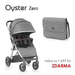 BabyStyle Oyster Zero kočárek Mercury 2019