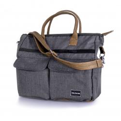Teutonia Přebalovací taška Melange Grey