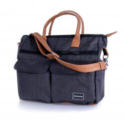 Teutonia Přebalovací taška Melange Black