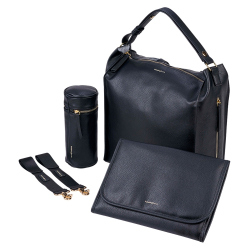 BabaBing Lucia changing bag/ tote/ backpack, Black