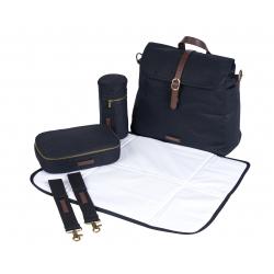 BabaBing Barca přebalovací taška/ batoh, Black