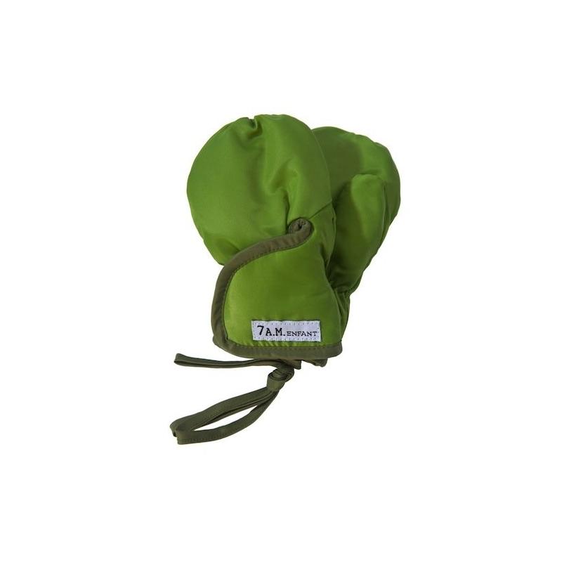 7AM Enfant Classic rukavice, Army/Kiwi,  XXL