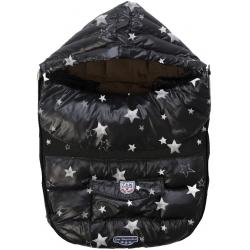 7AM Enfant Baby Shield M, Print Black Stars