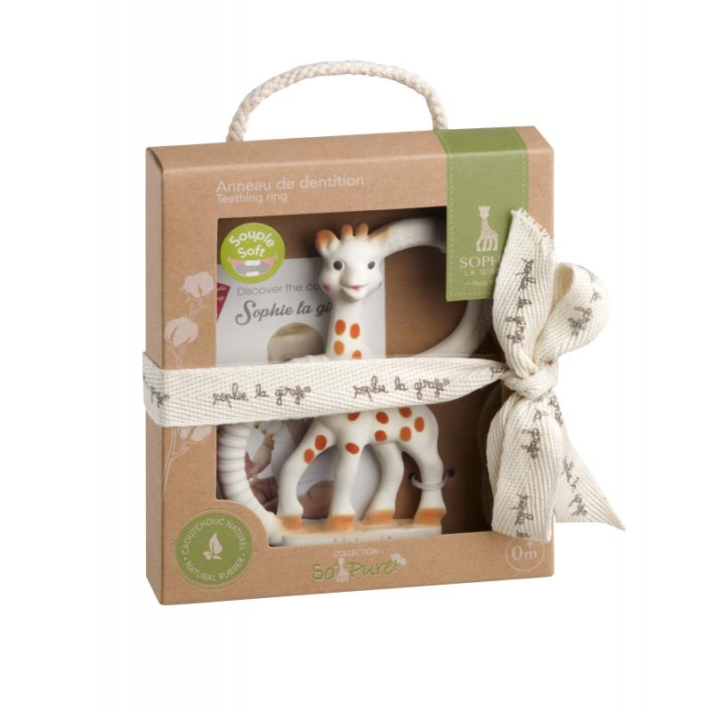 Vulli Kousátko žirafa Sophie SO PURE, extra měkké