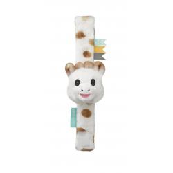 Vulli Pásek na ruku nebo nohu s plyšovým chrastítkem žirafa Sophie