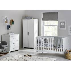 BabyStyle Monte Carlo child room (set: cod bed, dresser, wardrobe)