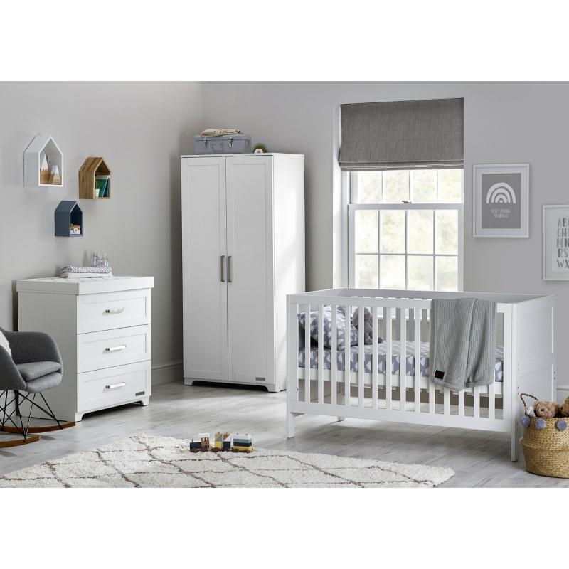 BabyStyle Monte Carlo dětský pokoj (set: postýlka, komoda, skříň)