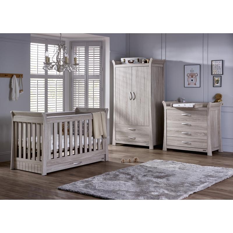 BabyStyle Noble dětský pokoj (set: postýlka, komoda, skříň)