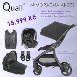 BabyStyle Egg Quail stroller 2019 + carrycot + adaptors + car seat, Gotham Black/ Grey