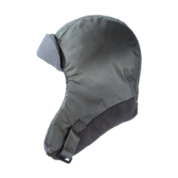 7AM Enfant Classic Chapka Hat, Metallic Silver/ Metallic Charcoal, XL