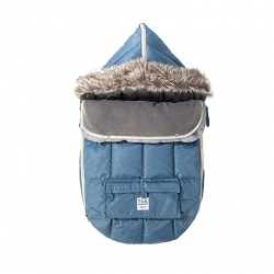 7AM Enfant Le Sac Igloo fusak Denim