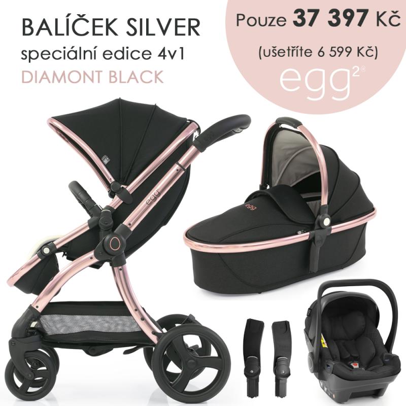 BabyStyle Egg2 set 4 v 1 - Diamond Black 2021